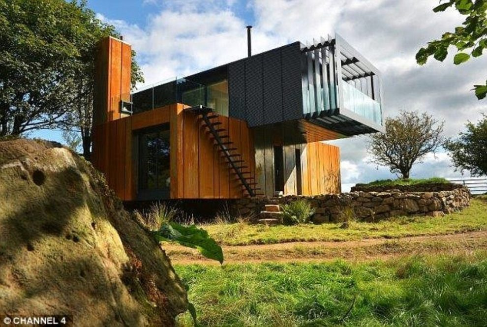 The Grand Designs Shipping Container House  Blog  ISO Spaces