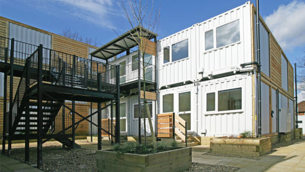 shipping container homes for social housing
