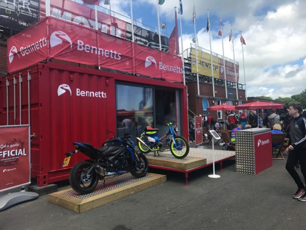 ISO Spaces at the Isle of Man TT 2017