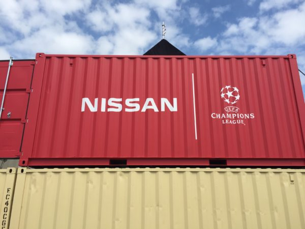 Nissan X-Trail Shipping Containers Conversion hiding place