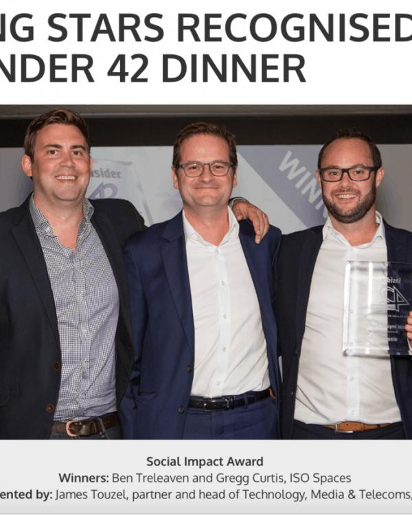 42 Under 42 Social Impact Award