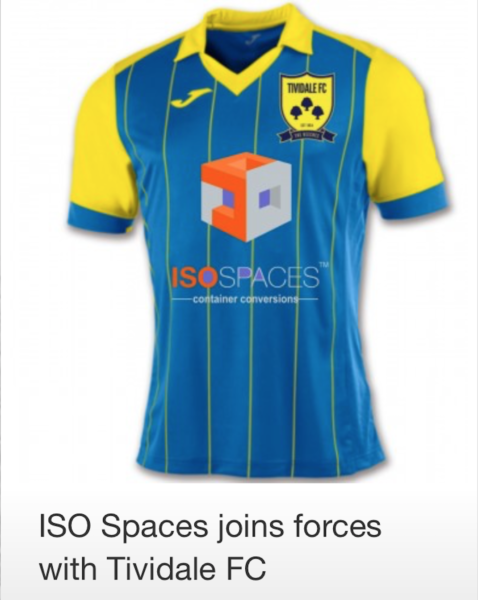 ISO Spaces join forces with Tividale FC