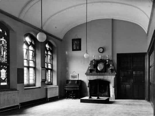 The School Hall in the original Old Cathedral School in Truro, Cornwall