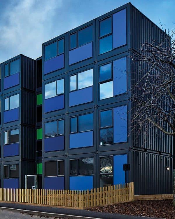 hope gardens, modular container housing