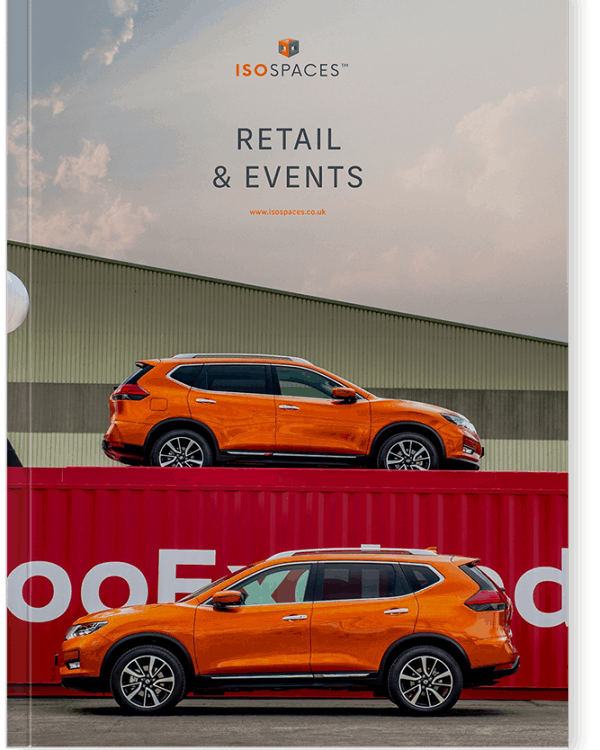 iso spaces retail and events brochure download
