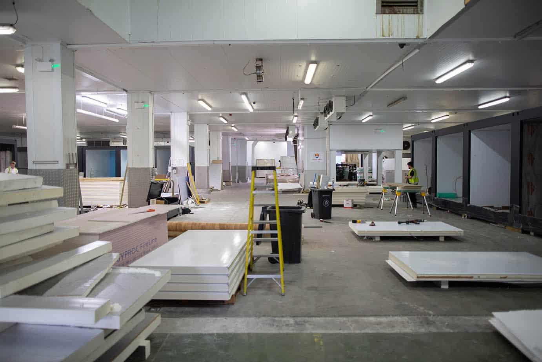 isospaces, tonbridge factory