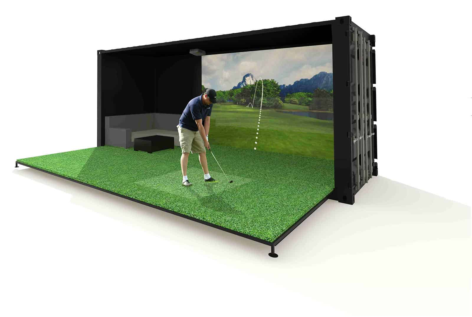golf-sim-shipping-container