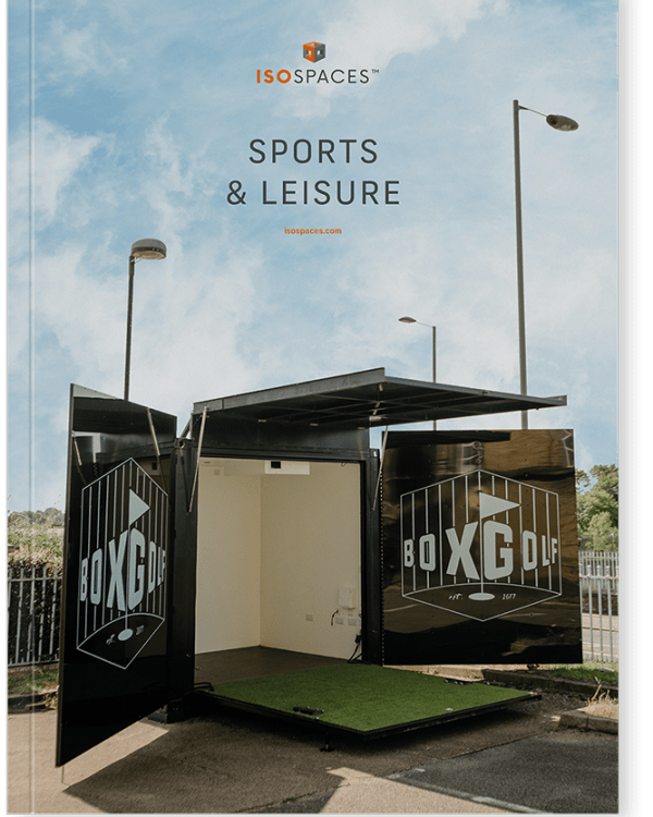 sports & lesuire shipping container conversions
