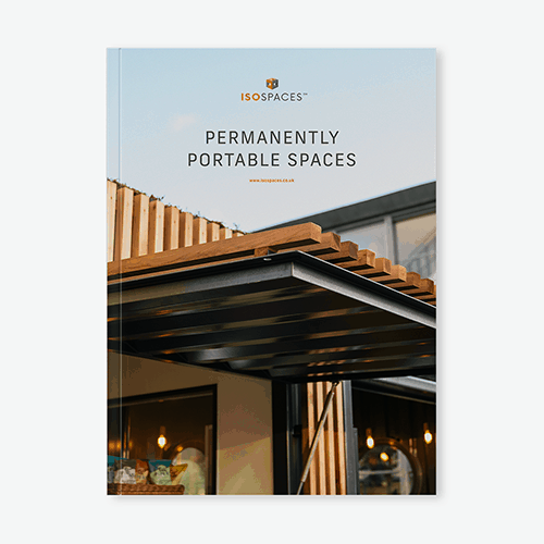 iso spaces shipping container conversions brochure