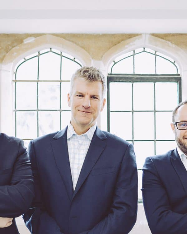 ISO Spaces directors Gregg Curtis, Andy Orr and Ben Treleaven