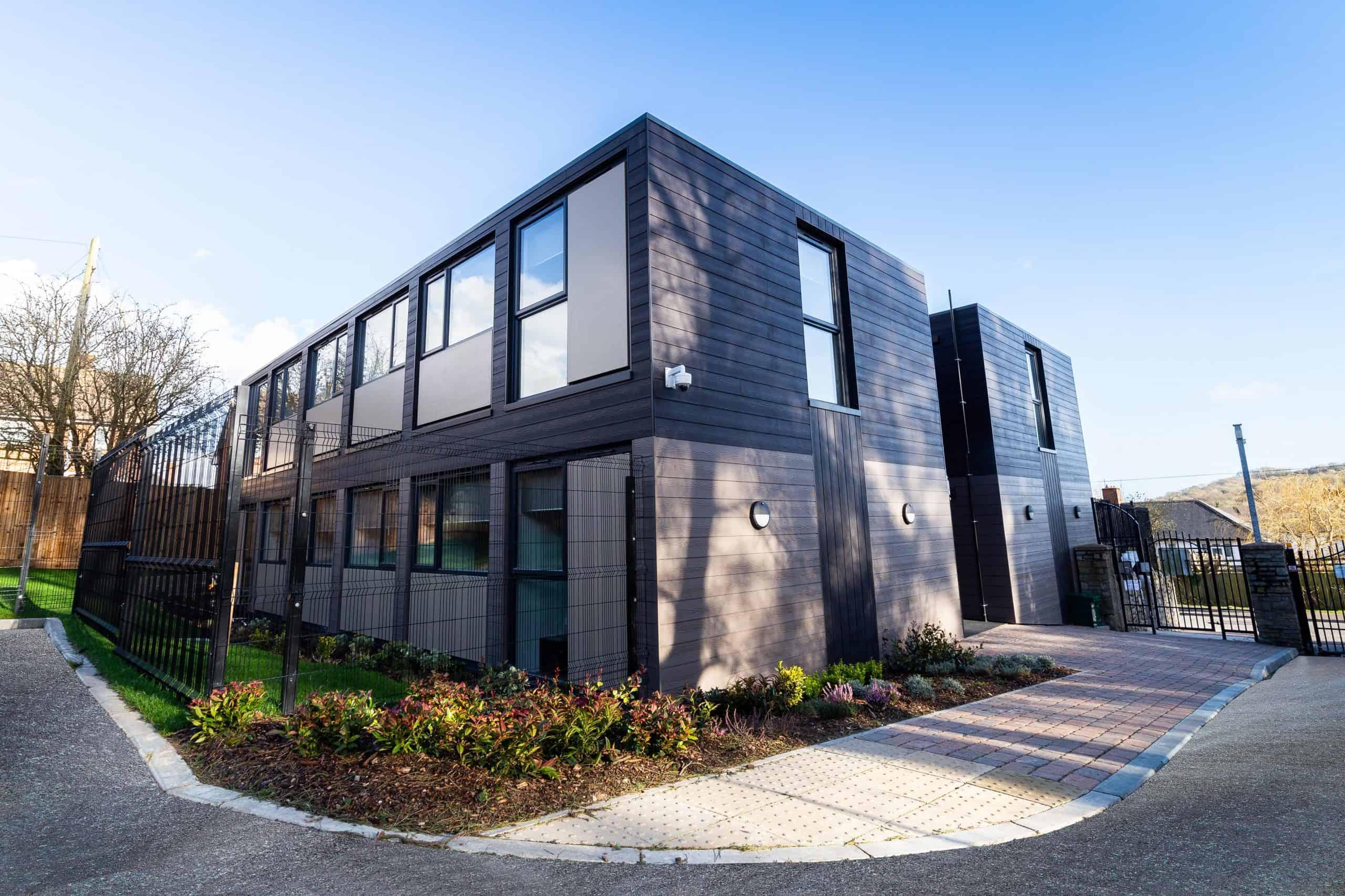 Greenfarm, Cardiff - Modular housing