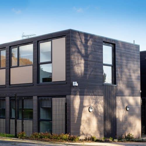 Greenfarm, Cardiff - Emergency Modular Housing