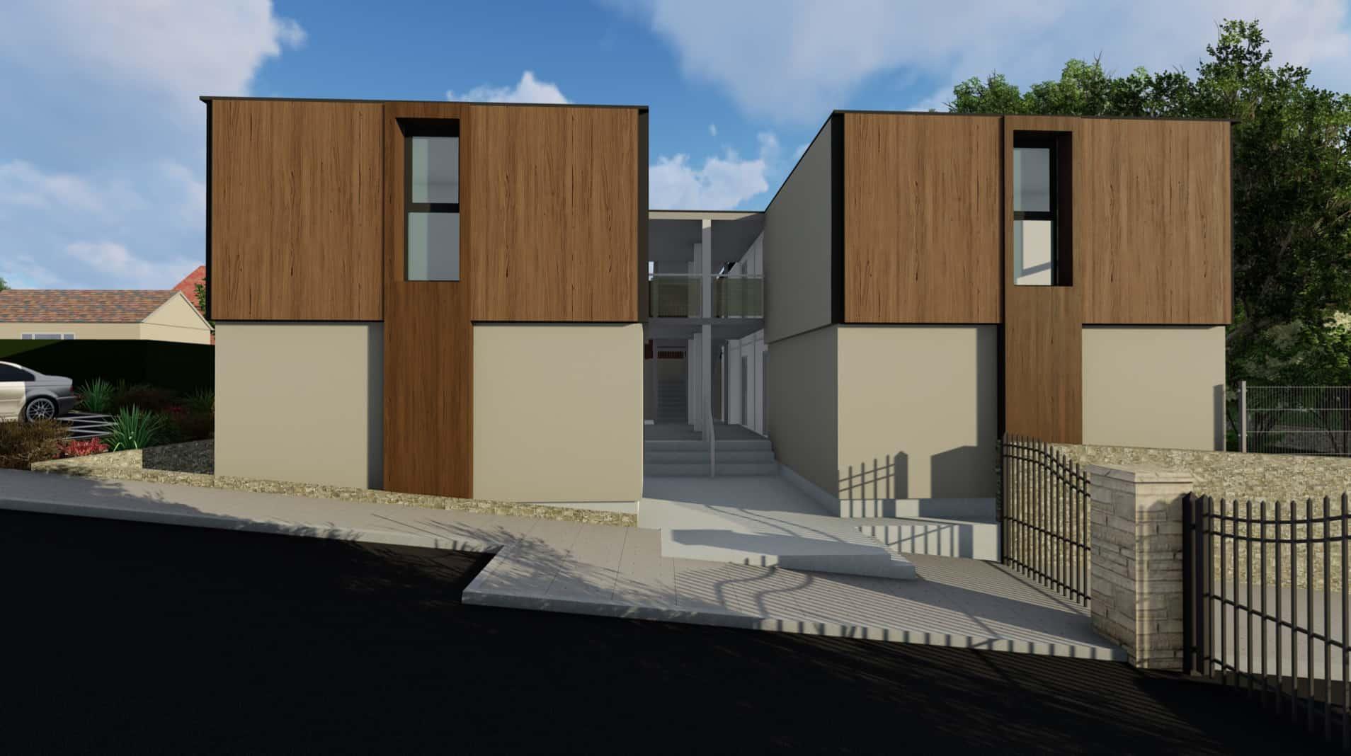 Concept design of modular housing