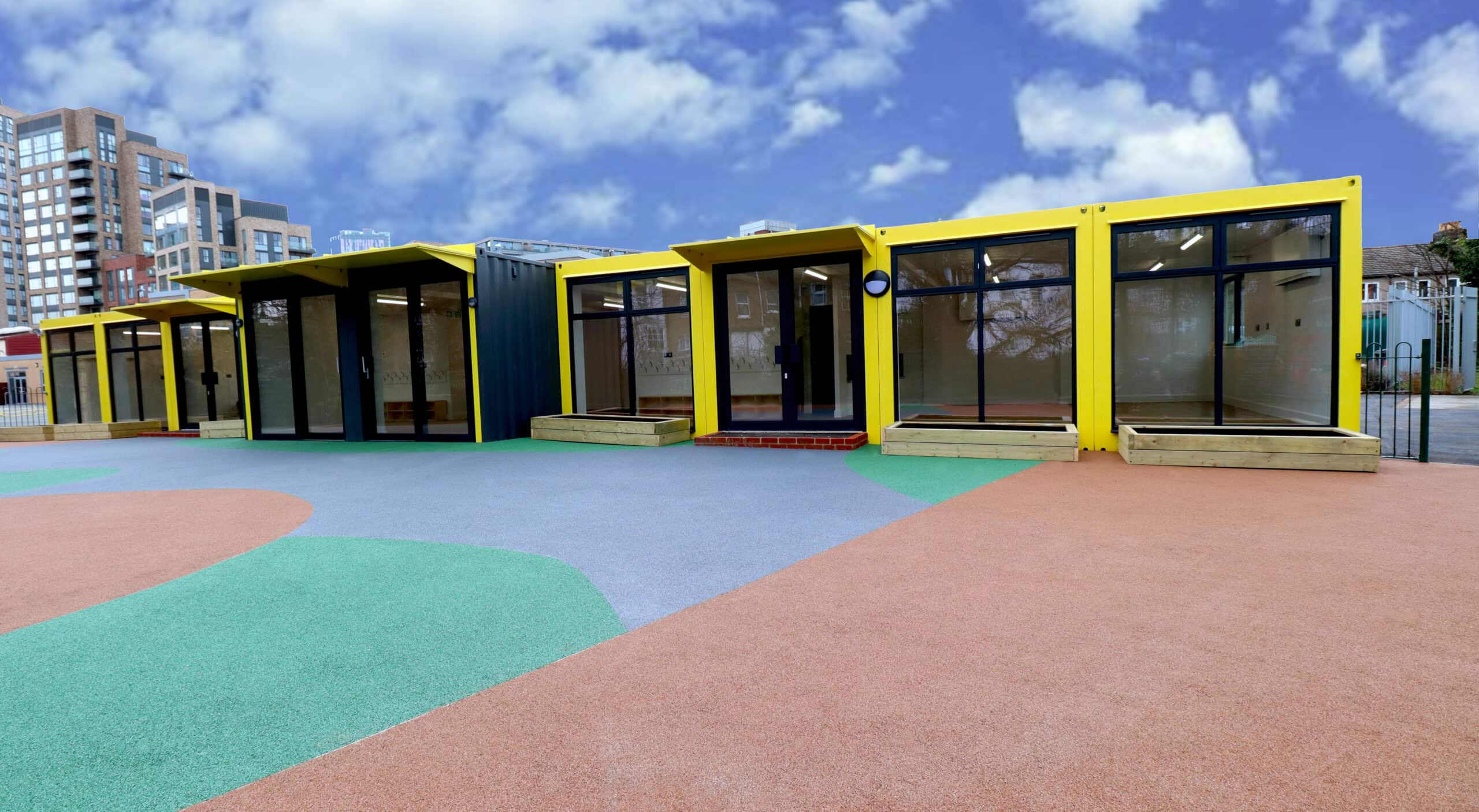 front view of ark academy nursery