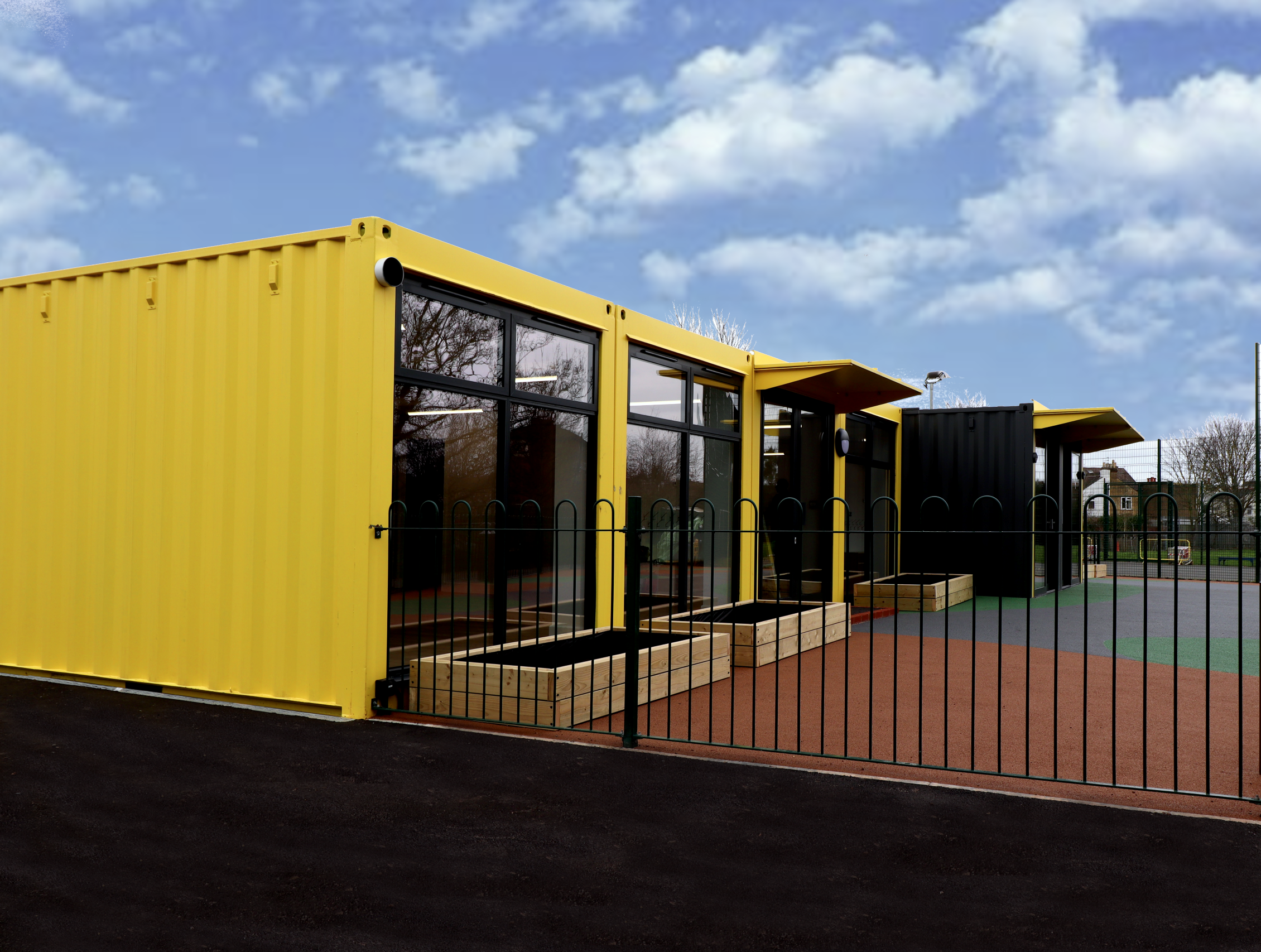 Side view of Ark Academy Nursery